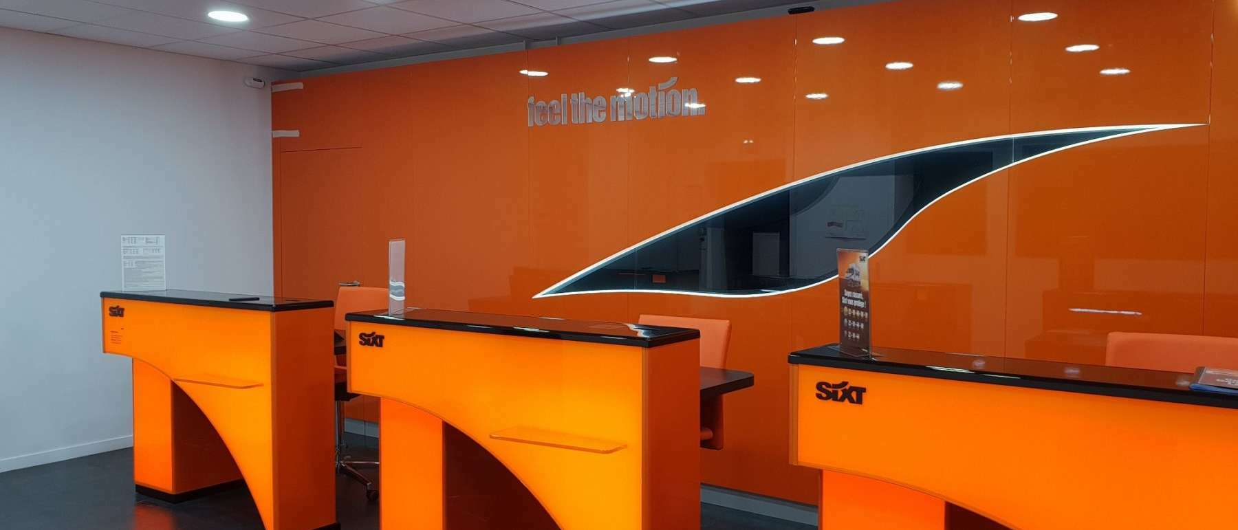 marketing point de vente sixt
