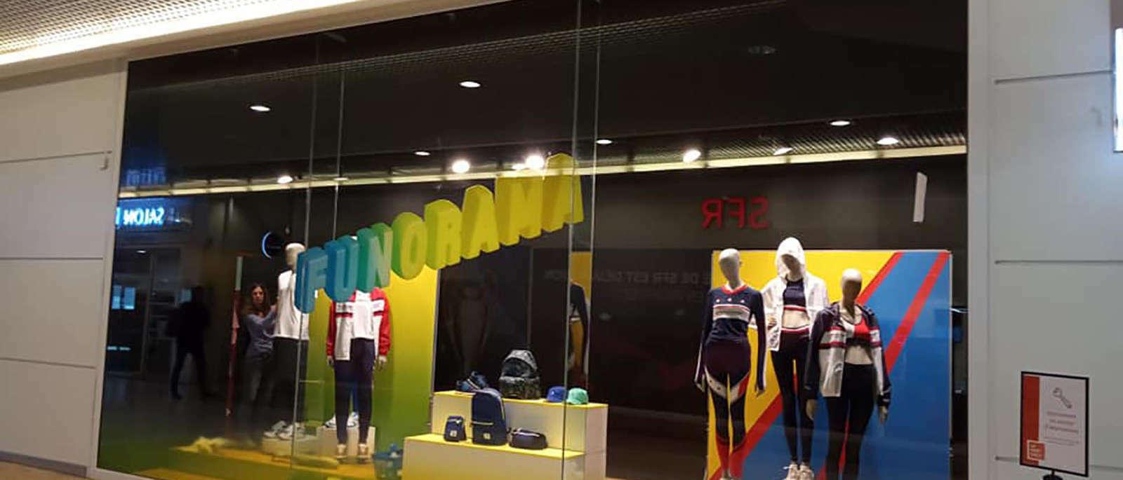 decoration vitrine magasin