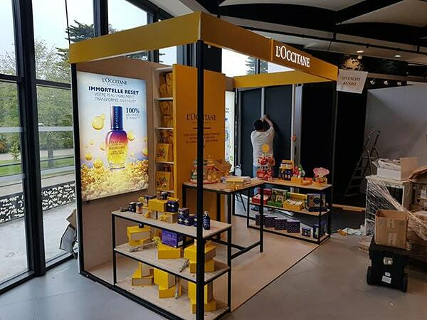 marketing point de vente occitane
